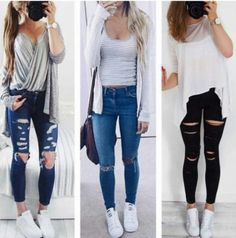 back to school outfits, Back to school outfit ideas http://www.justtrendygirls.com/back-to-school-outfit-ideas/