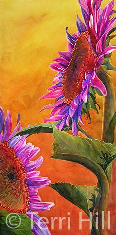 DesignerHill-Garden Paintings