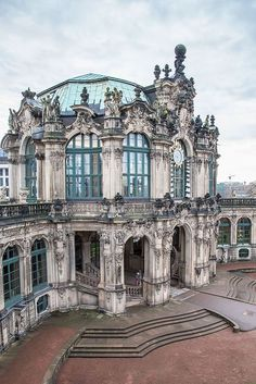 Zwinger Palace - the epitome of Baroque beauty in the world! Follow RUSHWORLD! We're on the hunt for everything you'll love!