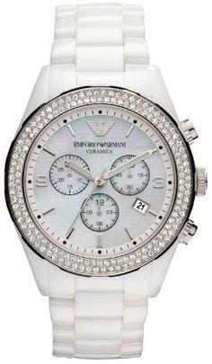 best - Emporio Armani Ceramica Women's Watch All White Crystals Set Chronogragh Bracelet Ar1456 GIORGIO ARMANI http://www.amazon.com/dp/B0085KK8Y0/ref=cm_sw_r_pi_dp_JJtOtb0FMZAYVTCD