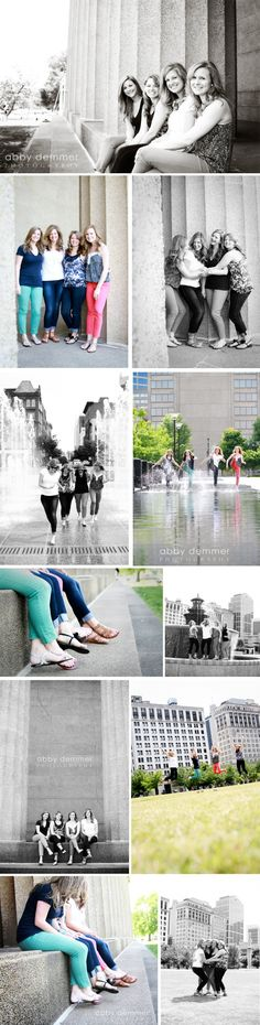 Nashville Photographer // best friend photo shoot... This would be a cute idea for some ones big bday!