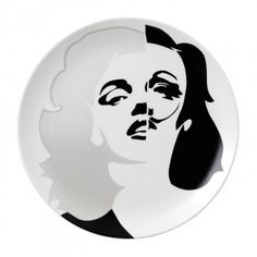 Street Art Marilyn Marlene Dali Plate 27cm by Pure Evil (Limited Edition of 2000)