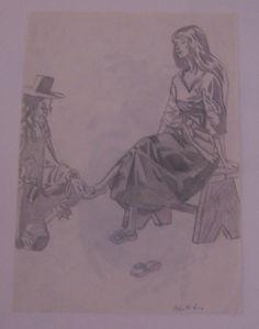 preso dal libro di Cenerentola che aveva mia zia, le illustrazioni sono stupende ;)