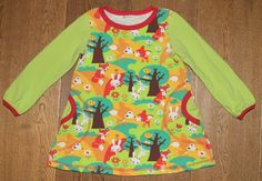 Tunika/kjole med skogens dyr Wetsuit, Swimwear, Fashion, Tunic, Scuba Wetsuit, Bathing Suits, Moda, Swimsuits, Diving Suit
