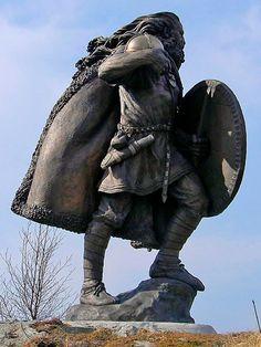 Harald Fairhair Hårfagre, Haugesund, Norway More 33rd GGU 1st King of Norway