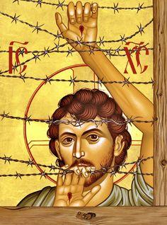 00 Robert Lentz. Christ of Maryknoll. 2002