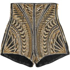Celebrities who wear, use, or own Balmain Spring Summer 2012 Embellished High Waisted Shorts. Also discover the movies, TV shows, and events associated with Balmain Spring Summer 2012 Embellished High Waisted Shorts. Black Leather Shorts, Black High Waisted Shorts, Black Shorts, Boho Shorts, Kpop Outfits, Stage Outfits, Kpop Fashion, Fashion Outfits, Womens Fashion