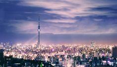 Tokyo Sky Tree by Holger Feroudj, via 500px