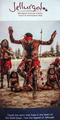 Brochure, Aboriginal Cultural Centre, 'Feel the legend of Jellurgal'