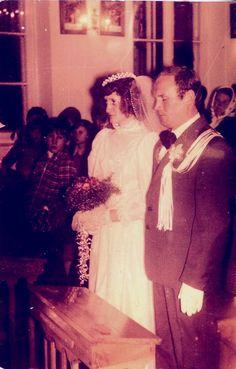 1983, ślub Teresy Marcyniuk z  Kazimierzem Kotowskim Nadrybiu