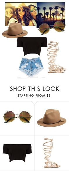 """Cochella *1"" by camymoreno-1 ❤ liked on Polyvore featuring beauty, rag & bone, Levi's and Gianvito Rossi"