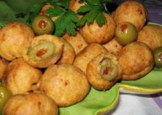 Мини-пирожки с оливками
