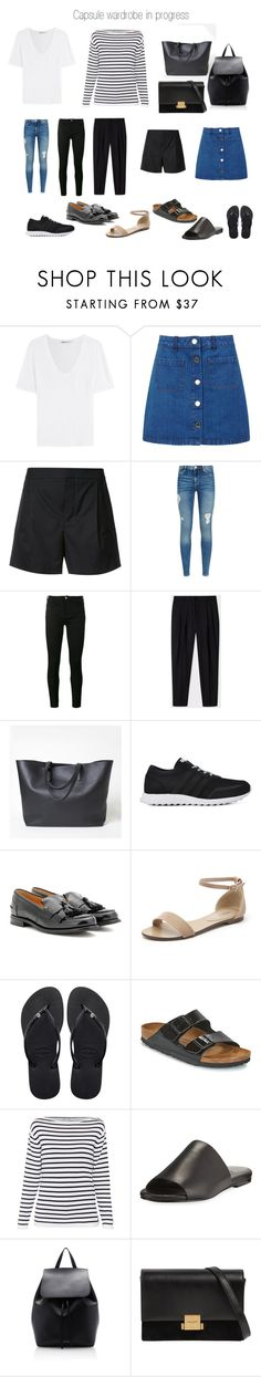 """""""Building capsule wardrobe"""" by patrycjapiecuch on Polyvore featuring moda, T By Alexander Wang, Miss Selfridge, Vince, Armani Jeans, Gucci, Paul Smith, Everlane, adidas i Church's"""