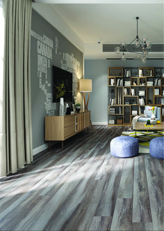Color: Dusk  ScubaTech™ combines the beauty of natural hardwood with the durability of laminate flooring plus the added benefit of water resistance.