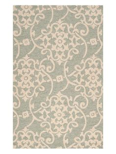 Rain Indoor/Outdoor Hand-Hooked Rug by Surya at Gilt