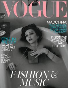 Madonna by Mert and Marcus for Vogue UK June 2019