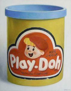 Nostalgia On Canvas. Allan Innman Paints Our Favorite Childhood Toys. 70s Toys, Retro Toys, Vintage Toys, Retro Vintage, 90s Childhood, My Childhood Memories, Great Memories, Nostalgia, 80s Kids