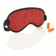 Eye Shade and Earplug Set: An eye shade is important, especially in summer when the sun rises at in certain countries. The ear plugs drown out white noise on airplanes (and crying babies). Walgreens Photo, Hearing Aids, Ear Plugs, Travel Accessories, Shades, Drown, Eye, Airplanes