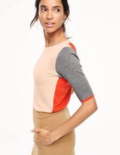 Lightweight Colourblock Sweater