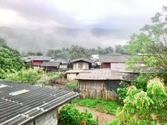 Morning mist at Ban Pha Mon, Pang Mapha, MaeHongSon Mists, Trips, Cabin, House Styles, Travel, Home Decor, Viajes, Decoration Home, Room Decor