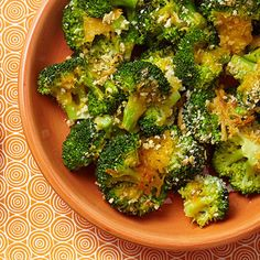 Get your kids to eat their veggies with this cheesy broccoli!