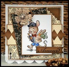 Vixx Handmade Cards: Whiff of joy stamp