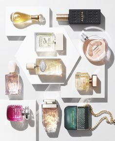 GLAMOUR Beauty Power List Perfumes shot with Dennis Pederson