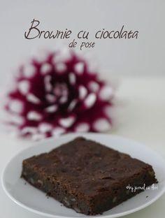 reteta brownie cu ciocolata si alune de post Sweet, Desserts, Food, Sweets, Candy, Tailgate Desserts, Deserts, Essen, Postres