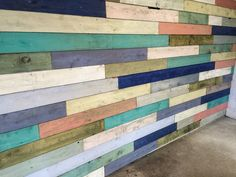Palletless pallet wall how to planked walls plank and for Cheap alternative to stikwood