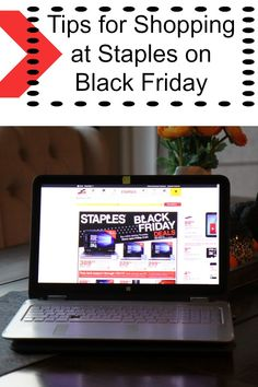 Here are some tips for shopping at Staples on Black Friday, to make sure you snag all the best deals possible. #ad