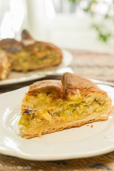 Torta di porri (Tuscan Leek Pie)