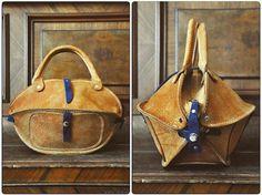 Little peach-coloured pumpkin-bag by @burtsevbags