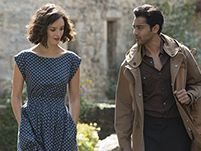 Charlotte Le Bon And Manish Dayal in a still from 'The Hundred-Foot Journey' - The Hundred-Foot Journey Movies Stills