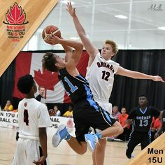 15U Men's Game12 results:ON 95 vs QC 99 #U15BOYSNC #MBHOOPS : J.J. Ali Photography