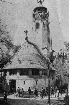 gottlieb eliel saarinen(1873-1950), finnish pavilion at the exposition universelle, paris, 1900