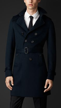 Trench coat in double cashmere | Burberry