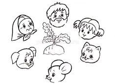 Кукольный театр из бумаги по сказке Репка своими руками Kindergarten Activities, English Kindergarten, Pictures To Draw, Comics, Drawings, Blog, Google, Cross Stitch Embroidery, Activities
