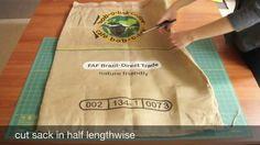 Beropa Co. Sewing Tutorial: From Burlap Coffee Sack to Versatile Tote Bag