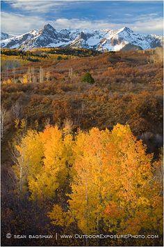 Dallas Divide in the Sneffels Range of southwestern Colorado (fall)