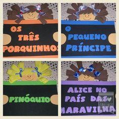 Placas para Cantinho da Leitura