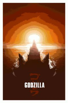 Godzilla 2014 Movie Posters from Poster Posse Project.