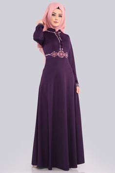 75564d2e1d547 290 en iyi Tesettürlü Elbiseler görüntüsü, 2019 | Alon livne wedding ...