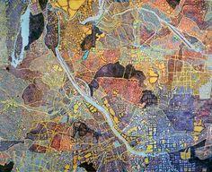 Composite Map 2 by Rebecca Riley