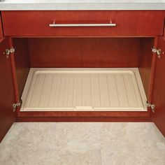 """Rev-A-Shelf Vanity Drip Tray 36"""" Wide Almond SBVDT-3336-A-1  