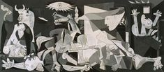 """This Artwork Changed My Life: Pablo Picasso's """"Guernica"""" - Artsy Picasso Guernica, Kunst Picasso, Picasso Art, Picasso Paintings, Long Painting, Art In The Age, Dora Maar, Animation Reference, Pierre Auguste Renoir"""