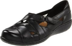 NEW Womens CLARKS Bendables Ingalls Falls Black Casual Slip On Shoes DISPLAY