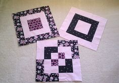Bento block and components Japanese Quilt Patterns, Japanese Quilts, Quilt Block Patterns, Pattern Blocks, Quilt Blocks, Jellyroll Quilts, Easy Quilts, Small Quilts, Quilting Tips