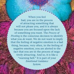 The Process of Pivoting + your Emotional Guidance System। Abraham❤️☀️