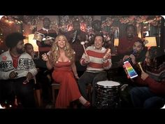 "Jimmy Fallon, Mariah Carey & The Roots: ""All I Want For Christmas Is You"" (w/ Classroom Instruments) - so fun!"