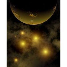 Artists concept illustrating a star cluster in the Milky Way galaxy Canvas Art - Mark StevensonStocktrek Images (26 x 32)